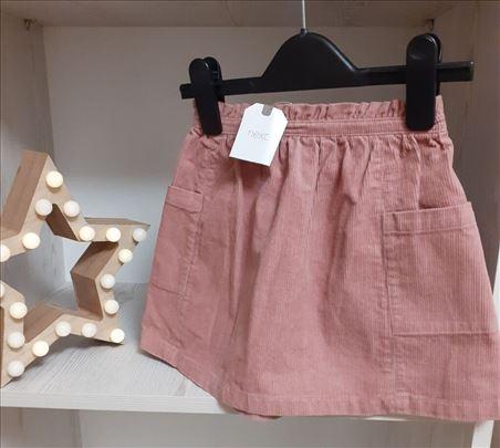 Next suknjica od somota za devojcice. Vel 2-3god
