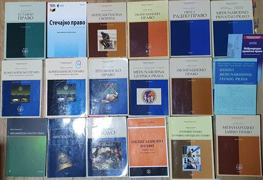 Pravni fakultet veliki izbor knjiga zamena/prodaja