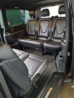 Enterijer sedišta Mercedes V klasa 447