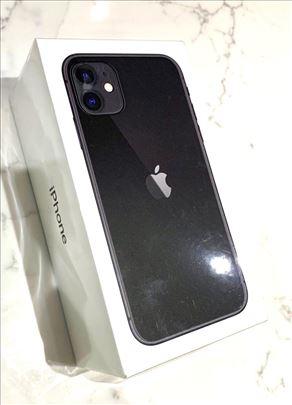 iPhone 11 64GB Black Crni Simfree Vakum Novo Garan