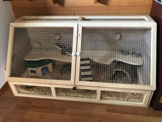 Kavez za zeca, hrčka i druge glodare