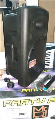 Novo - 15' - aktivan zvucnik sa bezicnim mikrofono