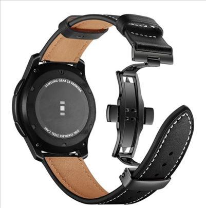 Samsung Galaxy Watch 46 mm kožna narukvica kaiš