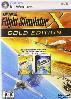 Microsoft Flight Simulator X (2006) Za računar