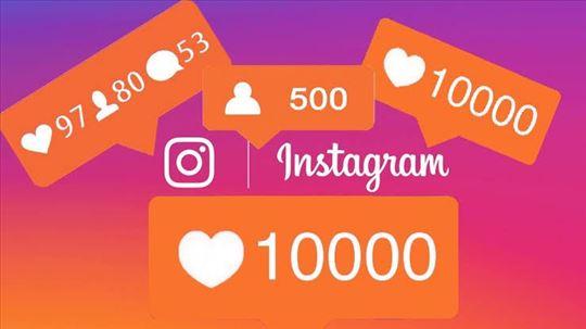 Prodaja Instagram pratioca i lajkova