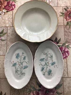 7 tanjira (razliciti) PORCELAN