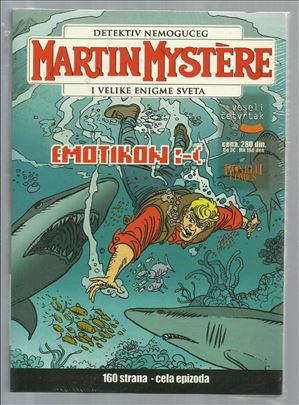 Martin Mystere VČ 12 Emotikon :( (celofan)