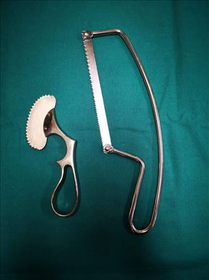 Testere za kosti i serklaž žica