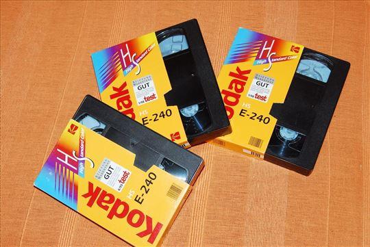 VHS video kasete od 240 minuta