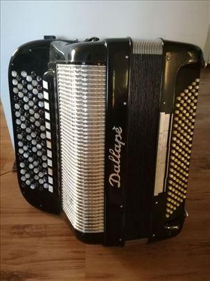 Harmonika dugmetara Dallape Organtone 120 basova