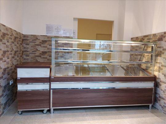 Tople i neutralne vitrine za pekare, NOVO