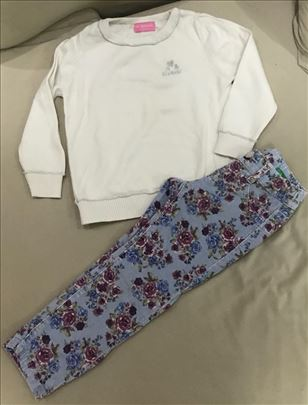 Benetton somotske pantalone i Waikiki dzemper