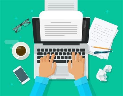 Pisanje radova iz ekonomije i sličnih oblasti