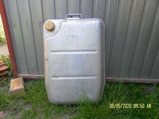 Kanta za gorivo ležeći alumin.30lit.