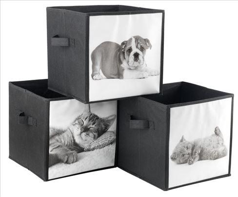 Kutije za Odlaganje SiS Kucni Ljubimci NOVE AKCIJA