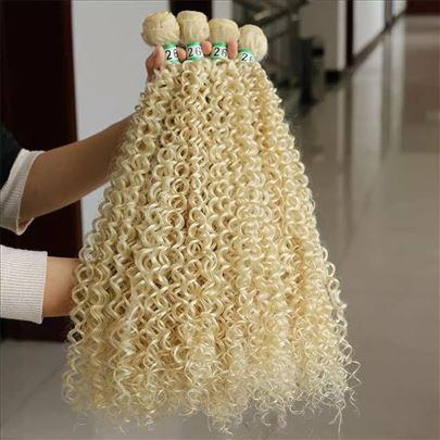 Sinteticka kovrdjava kosa Vrhunski kvalitet ne mrs