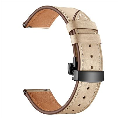 Kožna narukvica za Samsung Huawei smart sat