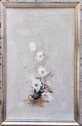 Slika ulje na platnu Cvetko Lainović Monografija