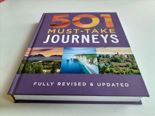 501 MUST TAKE JOURNEYS tvrd povez NOVA knjiga