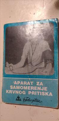 Knjiga:Aparat za samomerenje krvnog pritiska 12 cm