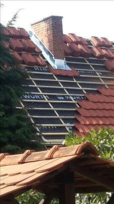 Majstori za sve krovove, sanacije, izgradnju novih