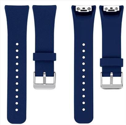 Plava silikonska narukvica za Samsung Gear Fit 2