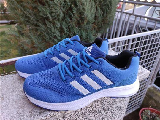 Adidas Plave Sa Belim Linijama-NOVO-Made In Vietna