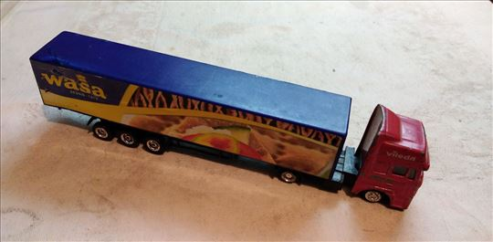 Kamion Man(Izgreban) sa prikolicom Wasa,1:87,China