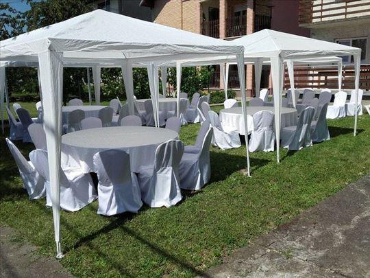 Prodaja lakomontažnih šatora