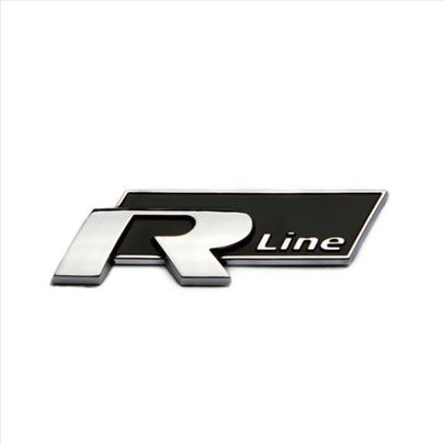 R line znak samolepljiv