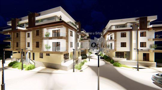 Stanovi u izgradnji od 35 - 70 m2 Loznica
