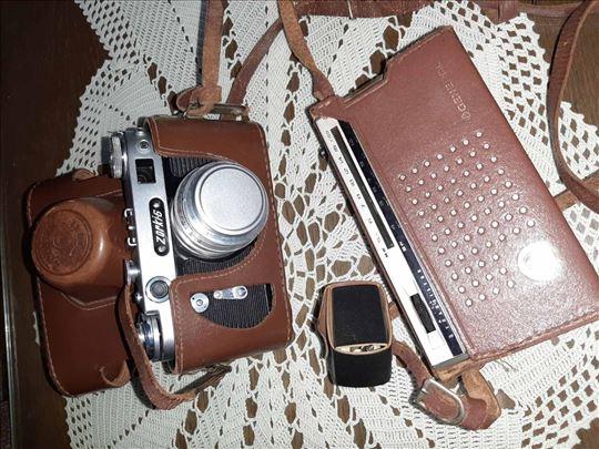 Fotoaparat i tranzistor