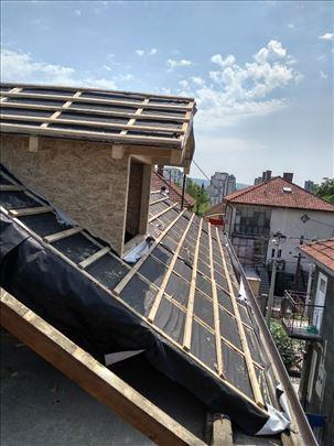 Radimo nove krovove i renovirano stare