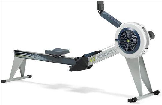 Concept2 Model E With Monitor PM5 Gray