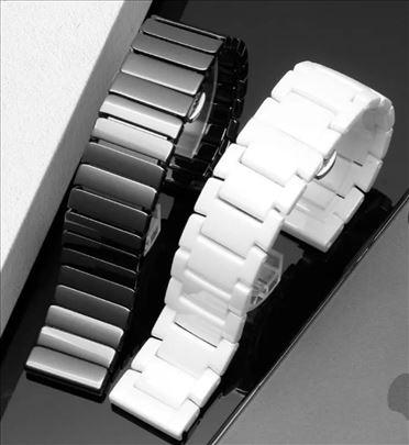Crna keramička narukvica za Huawei smart watch