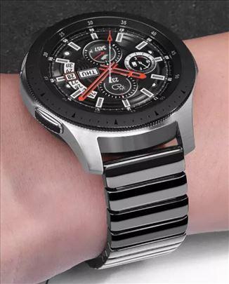 Crna keramička narukvica za Samsung smart watch