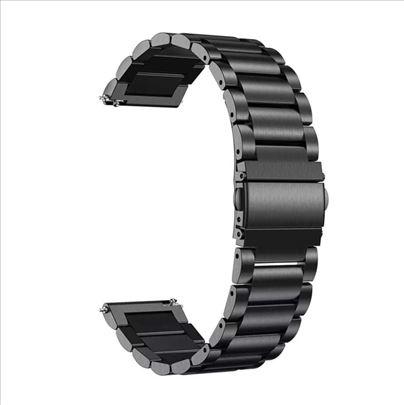Crna metalna narukvica za Huawei Watch GT