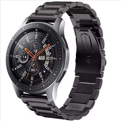 Crna metalna narukvica za Samsung Galaxy Watch