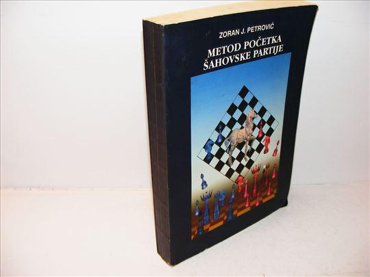 Metod pocetka sahovske partije  Zoran J. Petrovic