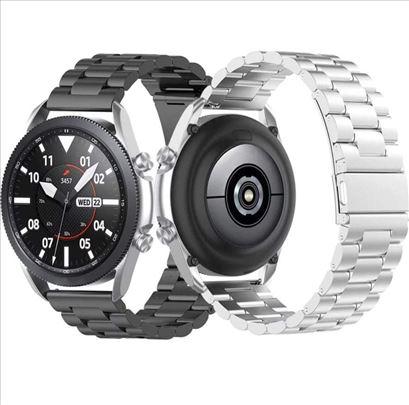 Siva metalna narukvica za Huawei Watch GT