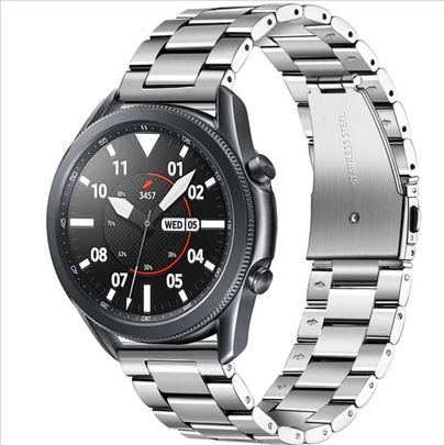 Siva metalna narukvica za Samsung Galaxy Watch