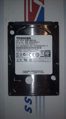"Hard disk 2.5"" Toshiba 1TB"
