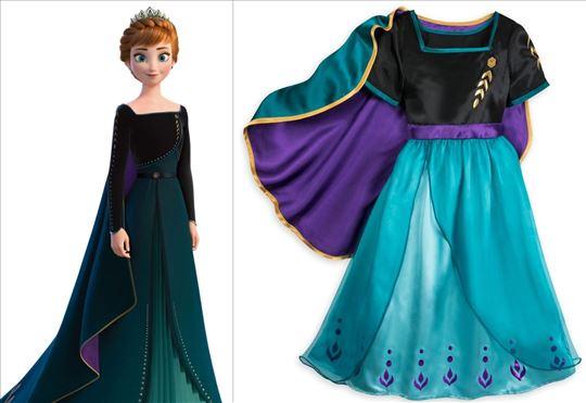 ANA Anna Frozen 2 kostim haljina ogrtac Elza Elsa