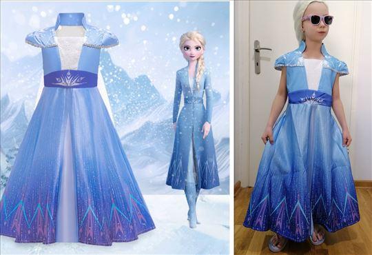 Elza Elsa Frozen 2 kostim kostimi haljina model R