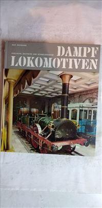 Knjiga Dampf Lokomotiven (Parne  lokomotive) 120 s