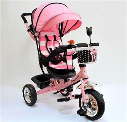 Nov tricikl roze model 406