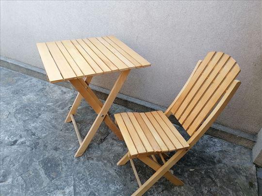 Sto + 4 stolice
