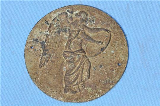Rim plaketa boginje Viktorije, bronza