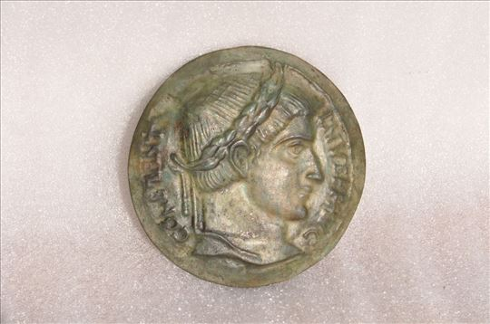 Rim, plaketa cara Konstantina Velikog