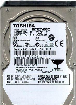 HDD 2.5 320GB Toshiba SATA 9,5mm